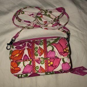 Vera Bradley All In One Pink Crossbody bag